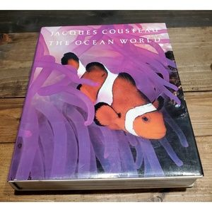 Other - Jacques Costeau The Ocean World Hbk Vg